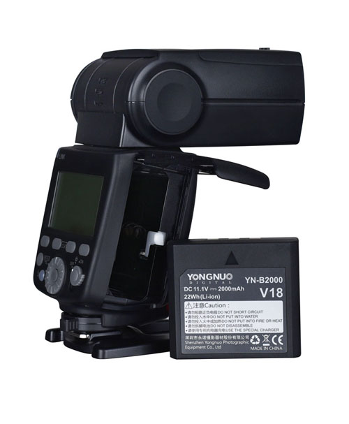 YN680EX-RT FLASH TTL BATERÍA